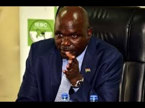Wafula Chebukati: I can't commit to serving as National Returning Officer