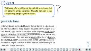 Eğitim Vadisi TYT Tarih 14.Föy 1881'den 1919'a Mustafa Kemal Konu Anlatım Videoları
