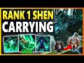 RANK 1 SHEN CARRIES WITH NEW SHOJIN BUILD S9 Shen Top vs Renekton Unranked to Challenger EP 20
