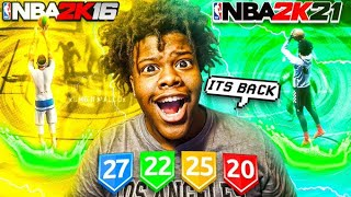 THE 6'7 DEMI GOD FROM 2K16 IS BACK ON NBA 2K21 (PS5) MOST EXPLOSIVE BUILD EVER! BEST BUILD NBA 2K21!