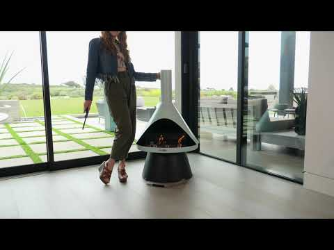 Lloyd Modern Gel Fuel Fireplace