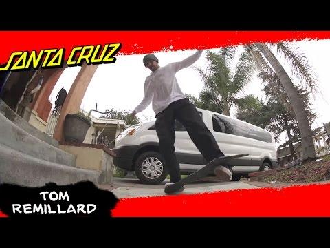 NO trucks NO wheels NO problem! Tom Remillard rifles off tricks carpet board style