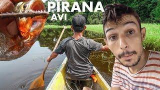 AMAZONLARDA PİRANA AVI (Bu suya düşmek istemezsiniz)