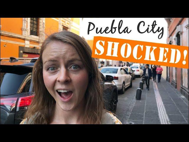 Video Pronunciation of puebla in English