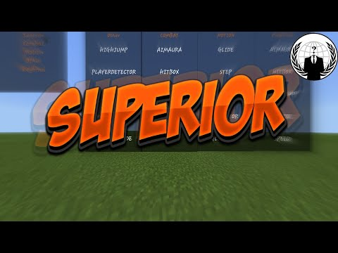 NEW Minecraft PE Hacked Client Mod Menu - Killaura, Wallhack, Fly