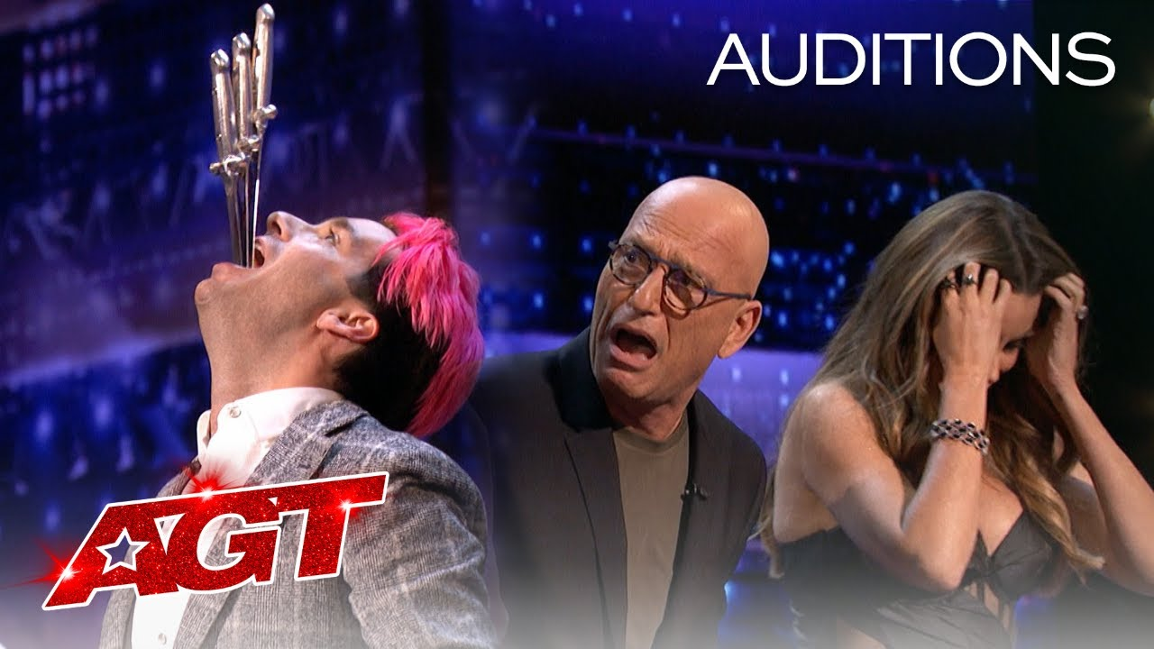 The AGT Judges Pull Swords out of Brett Loudermilk?! - America's Got Talent 2020 thumbnail