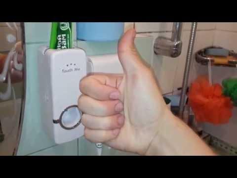 W1209 терморегулятор, micro sd 16GB + адаптер USB, дозатор зубной пасты + держатель зубных щеток