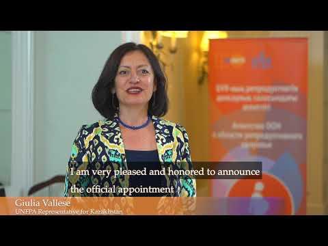 KALIYA appointed as Honorary Ambassador of UNFPA Kazakhstan