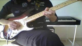 Deep Purple - Super Trouper (One Man Band, Guitar Solo)