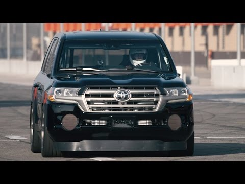 Toyota Land Speed Cruiser SEMA 2016