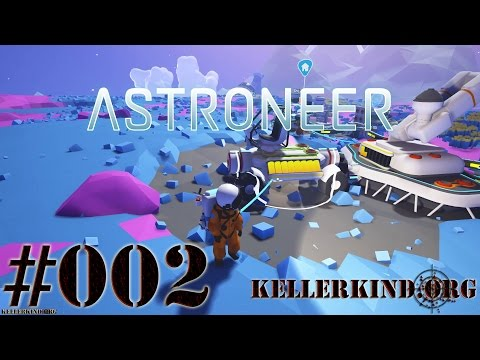"Astroneer #2 – Fahrt mit dem ""Strand-Buggy"" ★ Let's Play Astroneer [HD