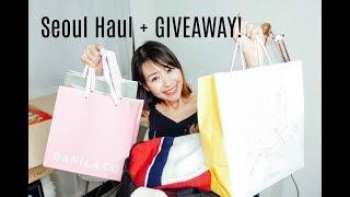 HUGE Korea/Seoul Haul 2018 (Makeup/Clothes/Snacks!) + GIVEAWAY INTERNATIONAL [closed]