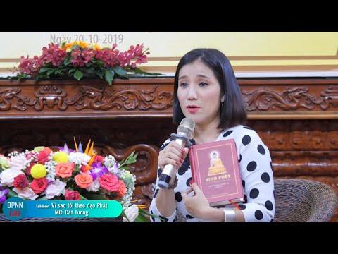 🔴TRỰC TIẾP - Talkshow vì sao tôi theo đạo Phật - Khách mời: Mc Cát Tường