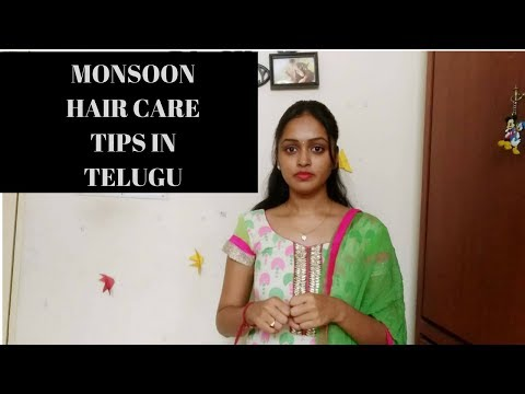 Monsoon Hair Care Tips In Telugu  | Healthy Hair Tips | Heavenly Homemade