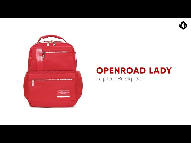 "Openroad Chic Laptop Rucksack  14.1"" video 1"