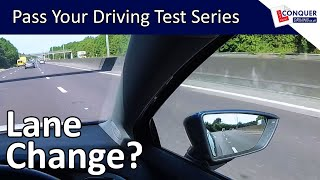How to change lanes on the road safely