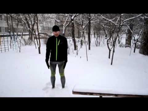 Тестирование спортивной экипировки X-Bionic®. Термобельё Radiactor EVO™. Первые впечатления