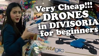 The BEST Low Cost DRONES for Beginners in Divisoria