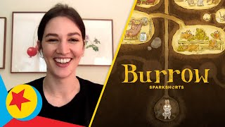 "Pixar Fan Questions with Madeline Sharafian, Director of ""Burrow"" 