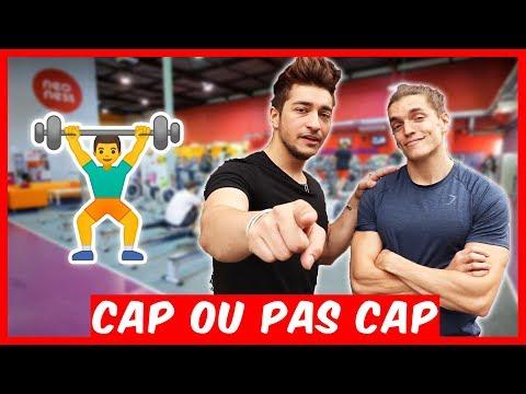 CAP OU PAS CAP À LA SALLE DE SPORT avec ANTOINE FOMBONNE