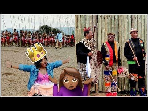 How men behave at the reed dance    Umkhosi womhlanga 2018