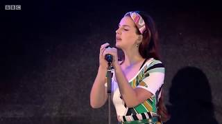 Lana Del Rey - Cherry Live BBC Radio 1's Big Weekend
