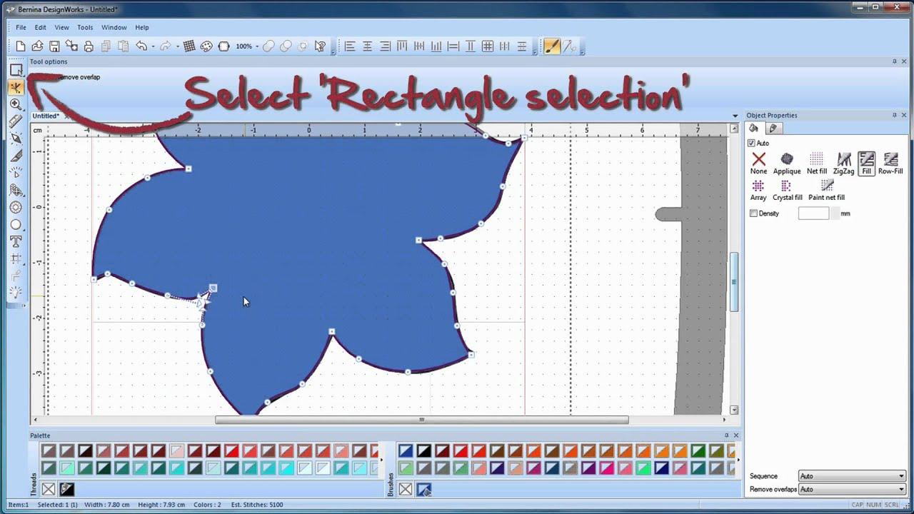 BERNINA CutWork: ako vytvoriť vzor s CutWork (vyrezávacím) softvérom