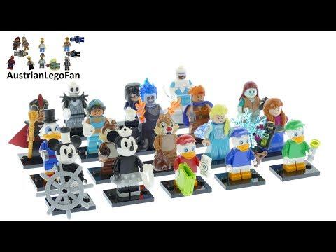 Vidéo LEGO Minifigures 71024 : Disney - Série 2