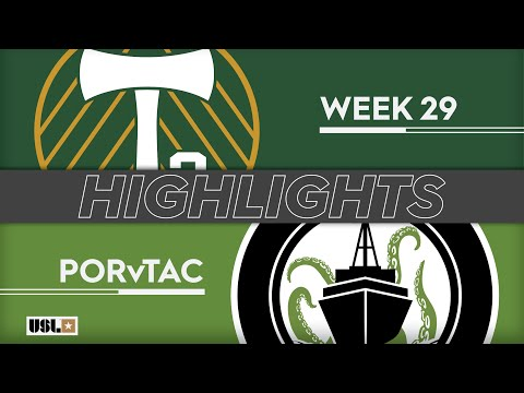 Портленд 2 - Tacoma Defiance 6:3. Видеообзор матча 21.09.2019. Видео голов и опасных моментов игры