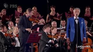 O Sole Mio - Andrea Bocelli | Landmarks Live in Concert - Andrea Bocelli