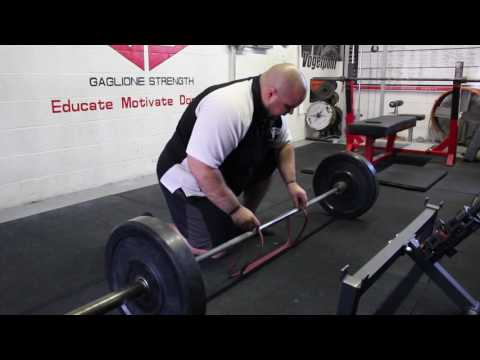 How to Set Up Bands for Conventional Deadlift for Powerlifting