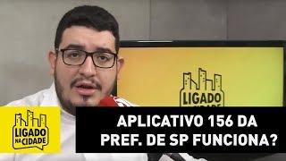 Aplicativo 156 da Prefeitura de São Paulo