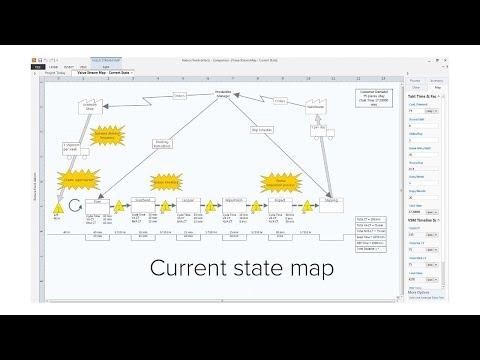 Value Stream Maps - Companion by Minitab (Now Minitab Engage)