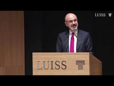 Giovanni Lo Storto, Direttore Generale Luiss - Inaugurazione A. A. Luiss 2019/2020