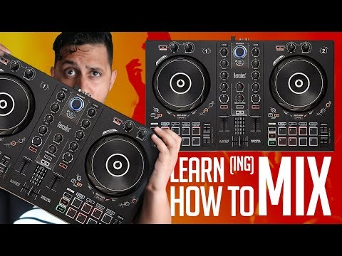 Learn HOW TO MIX MUSIC w/ Hercules Inpulse 300 DJ Controller (Product Spotlight)