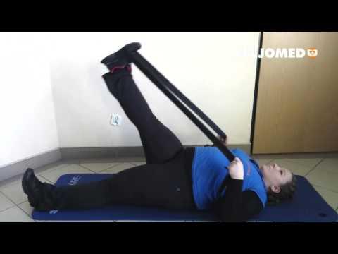 Huśtawki z ciężarami mięśni