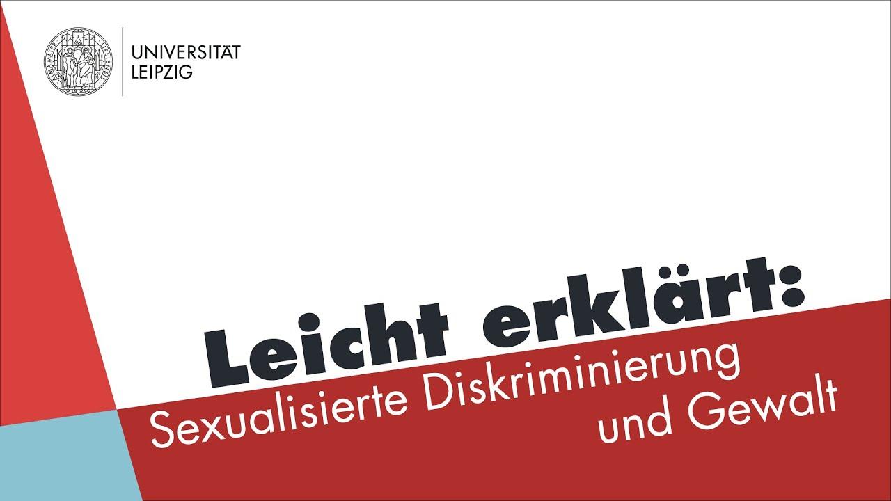 #EsGehtUnsAn Leicht erklärt: Sexualisierte Diskriminierung und Gewalt