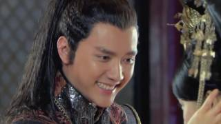 Prince of Lan Ling cu Feng Shao Feng 馮紹峰 and Ariel Lin 林依晨