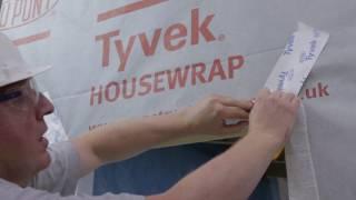 Tyvek® FlexWrap tapes: Sealing around windows