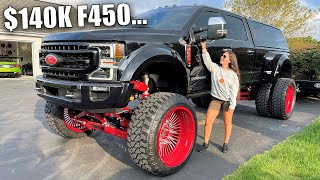 How WHISTLIN DIESEL Made Me Buy This $140,000 ANY LEVEL F450!!! *Full Truck Tour!*