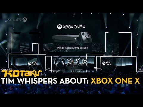 Tim Rogers Whispers Thru The Xbox E3 Press Conference
