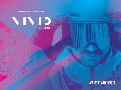 Смотреть видео Маска Giro Axis Lucas Beaufort / Vivid Onyx 14 + Vivid Infrared 62