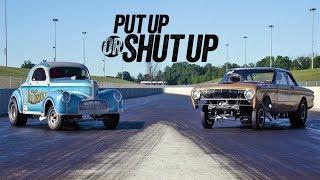 Vintage Gasser Drag Race Showdown! - Put Up or Shut Up Ep. 2