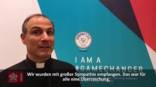 Vatikan-Delegation bei den Olympischen Winterspielen 2018