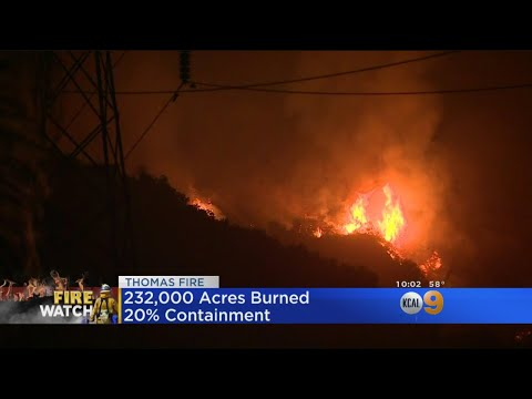 High Anxiety In Carpinteria As Thomas Fire Marches North