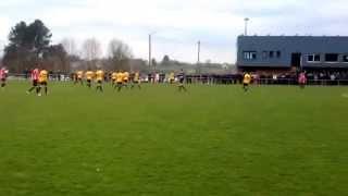 preview picture of video 'RFC Raeren 0-1 KFC Weywertz : Freistoßtor Robin Boemer'