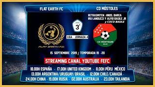 R.F.F.M - Jornada 4 - Tercera División Nacional: Flat Earth F.C 0-0 C.D. Mostoles U.R.J.C