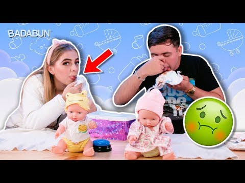 YouTubers VS Pañales sucios | Es duro ser papá
