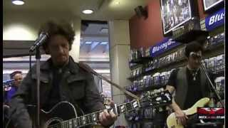 "Willie Nile - ""This Is Our Time"" fye in-store performance - 06-27-2013"