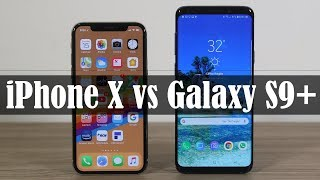 Galaxy S9 Plus vs iPhone X: The Winner is Revealed!